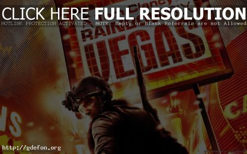 Обои Rainbow Six: Vegas фото картики заставки