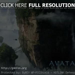 Аватар Пандора, летающие острова