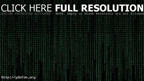 Обои Матрица, с кодом матрицы фото картики заставки