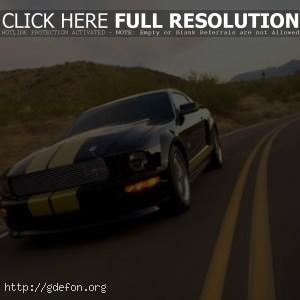 Ford Mustang чёрный