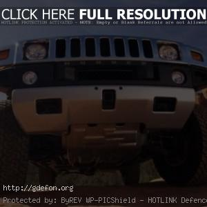 Hummer H2 снизу