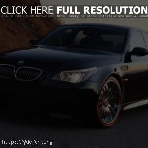 BMW M5 turbo