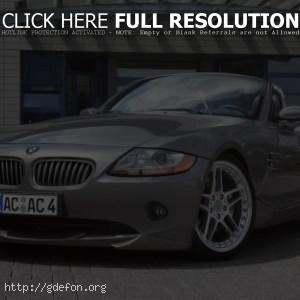 BMW с открытым верхом