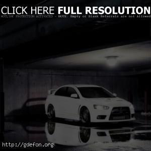 Mitsubishi белая
