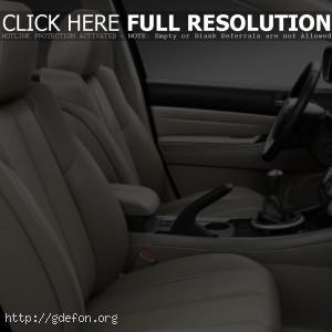 Интерьер Mazda CX 7