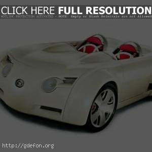 Футуристический автомобиль Toyota