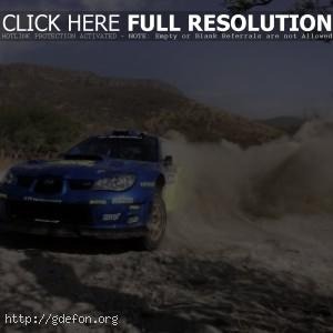 Subaru на ралли