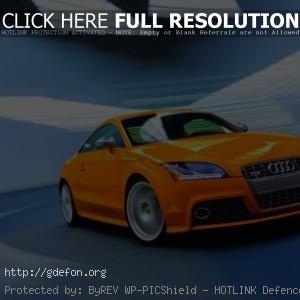 Audi TT-S оранжевый