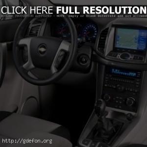 Chevrolet Captiva 2011 интерьер