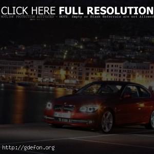 BMW 3 series красный