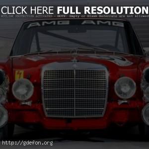 AMG Mercedes 300SEL 6.3 Race Car