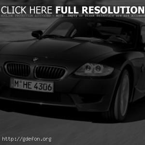 BMW Z4 M Coupe Чёрный