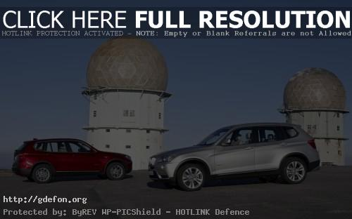 Обои BMW X3 серебристый и красный фото картики заставки