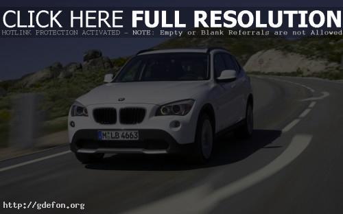 Обои BMW X1 фото картики заставки