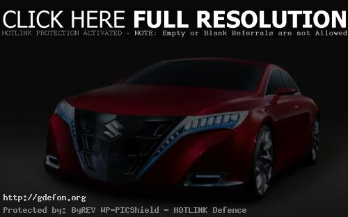 Обои Красная Suzuki Kizashi Concept фото картики заставки