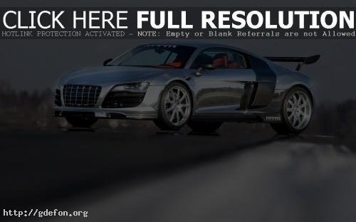 Обои Audi MTM R8 V10 фото картики заставки