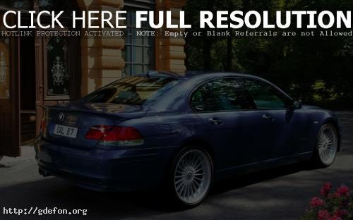 Обои BMW B7 фото картики заставки