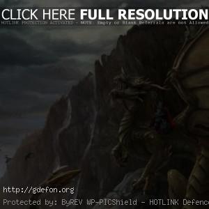 Рыцарь на зеленом драконе