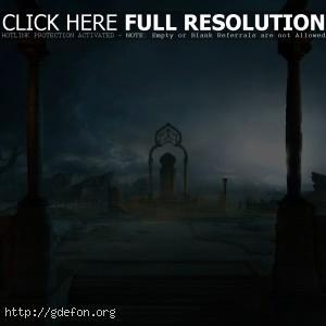 арка, руины, магия