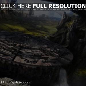 Город в скалах