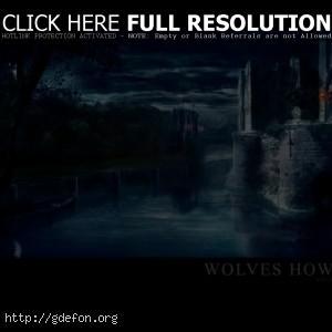 Ветхий замок ночью
