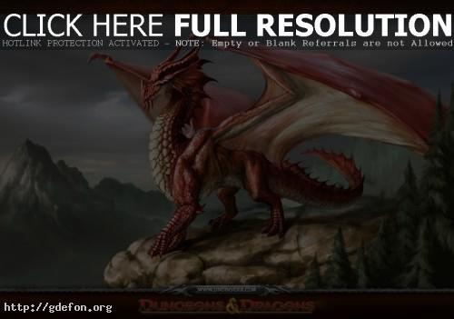 Обои Красный дракон — Red Dragon фото картики заставки